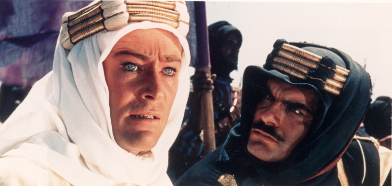 O'Toole, Sharif In 'Lawrence Of Arabia'